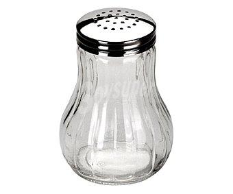 IBILI Dispensador de queso o sal fabricado en vidrio con tapa de acero inoxidable 1 Unidad