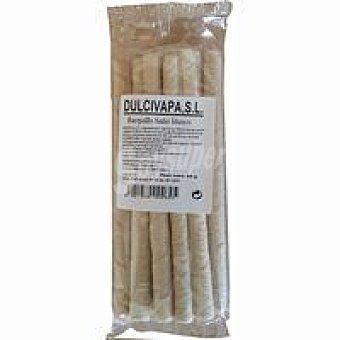 Dulcivapa Barquillos con baño blanco Bolsa 85 g