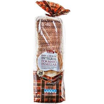 Aliada pan de molde integral con corteza formato familiar 26 rebanadas Bolsa 820 g