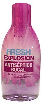Deliplus Enjuague bucal fresh explosion (morado) Botella 500 ml
