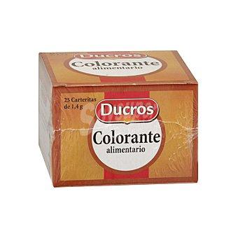 Ducros Carteritas colorante Caja 35 gr