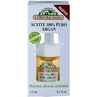 CORPORE SANO Aceite 100% puro argán máxima eficacia antiedad Envase 15 ml