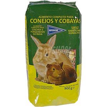 Hipercor Alimento completo para conejos y cobayas Paquete 900 g