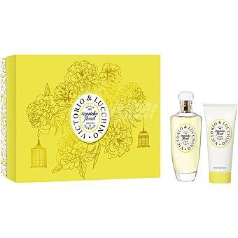 Victorio & Luccino Floral Azahar eau de toilette natural femenina + body lotion tubo 100 ml Spray 100 ml