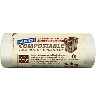 Compost Bolsa 44X44 saplex 15 unidades