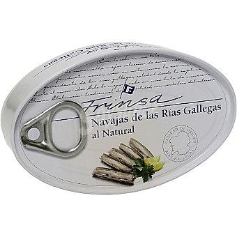 Frinsa Navajas de las rías gallegas al natural lata 63 g neto escurrido Lata 63 g neto escurrido