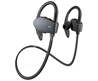 Energy Sistem Auriculares Bluetooth tipo deportivo sport graphite 427451 con micrófono, grafito con micrófono, grafito