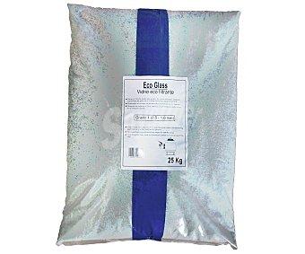 GLOBALPLANT Saco de 25 kilos de cristal filtrante con granulimetria 0.5-11 milímetros 1 Unidad