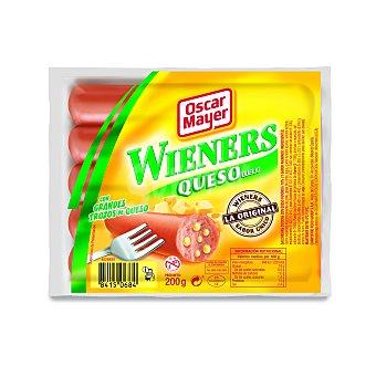 Oscar Mayer Salchichas con queso Envase 200 gr