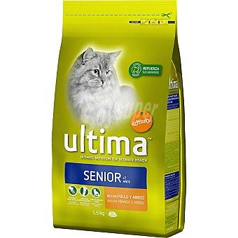 AFFINITY ULTIMA SENIOR Rico en pollo y arroz para gato bolsa 1,5 kg Bolsa 1,5 kg