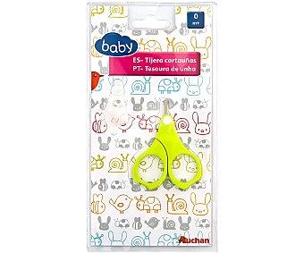 Tijeras uñas bebé verde baby.