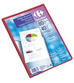 Carrefour Carpeta de fundas personalizable A4 40 fundas