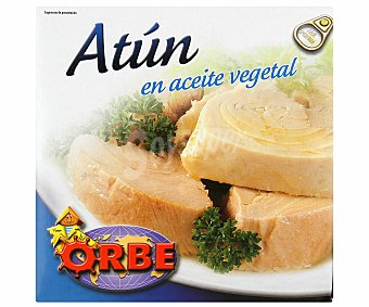 Orbe Atún en Aceite Vegetal Lata 173 Gramos Peso Escurrido