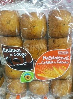 HACENDADO Magdalena rellena de chocolate industrial Paquete de 420 g