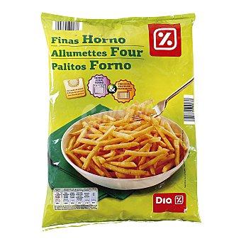 DIA Patatas fritas congeladas finas horno Bolsa de 1 kg