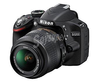 Nikon Cámara Réflex D3200 KIT 1 unidad