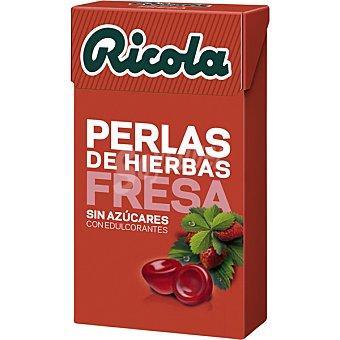 Ricola Caramelos de goma sin azucares, con hierbas de las montañas suizas ,refrescan la boca y la garganta 25 Gramos