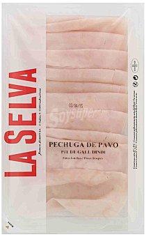 La Selva Pechuga de pavo finas lonchas sin gluten 125 G 125 g