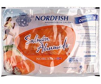 Nordfish Salmón ahumado noruego Paquete 250 g