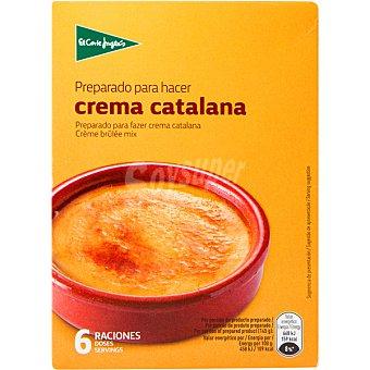 El Corte Inglés Preparado para hacer Crema Catalana  Estuche 6 raciones (117 g)