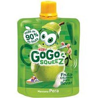 Gogo Squeez Fruta triturada de manzana-pera Bolsa 90 g