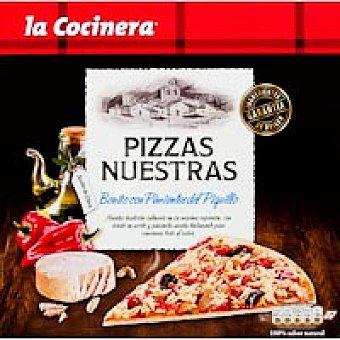 La Cocinera Pizzas Nuestras de atún-piquillos Caja 320 g