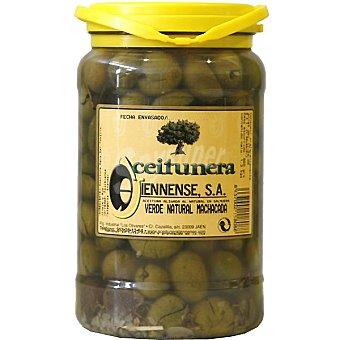 Aceitunera Jiennense Aceitunas naturales machacadas Envase 650 g neto escurrido