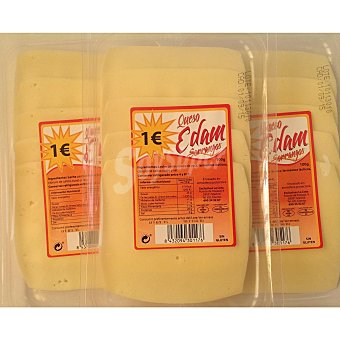 SORRANGOS Queso edam lonchas  Envase 100 g