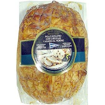 Hipercor Pollo asado al horno relleno con ciruelas pieza 600 g 600 g