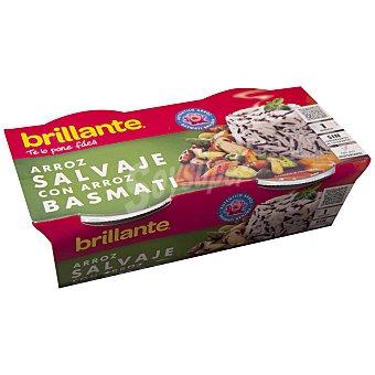 Brillante Brillante Arroz Salvaje-Basmati (Pack 2x125g) 250 gr