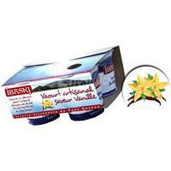 IBASKI Yogur de vainilla Pack 4x125 g