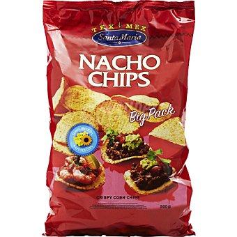SANTA MARIA Nachos chips naturales  500 g