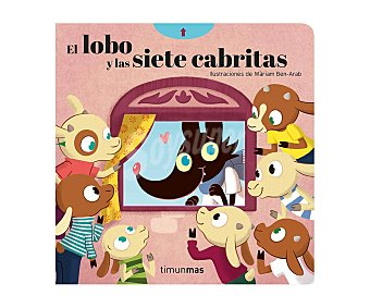 Planeta El lobo y las siete cabritas, cuentos con mecanismos, mariam ben-arab. Género: infantil. Editorial Planeta.