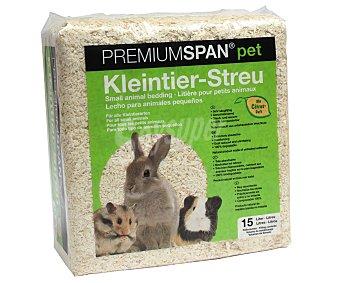 PREMIUMSPAN Lecho para animales pequeños PET 1 kilogramo