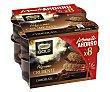 Mousse de chocolate con chocolate crujiente 8 x 57 g Nestlé Gold