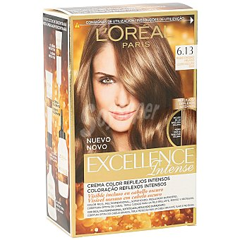 Excellence L'Oréal Paris Intense tinte Rubio Oscuro Helado nº 6.13 crema color multi-reflejos intensos caja 1 unidad