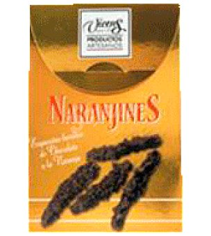 Vicens Estuche naranjines 120 g