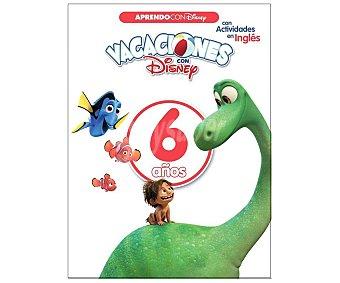 Disney Vacaciones con 6 años, cuaderno de actividades, VV.AA. Editorial Disney. Descuento ya incluido en PVP. PVP anterior: