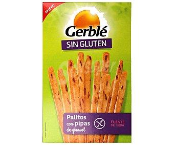 Gerblé Palitos con pipas de girasol, sin gluten,, 100 gramos