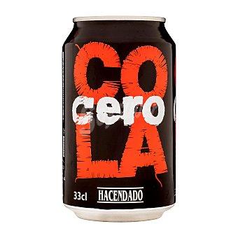 Hacendado Cola cero Lata 330 cc