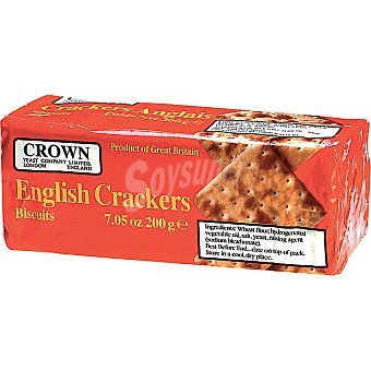 CROWN English Crackers Paquete 200 g