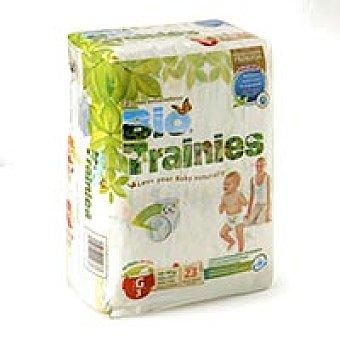 Bio Trainies Bragapañal talla grande 23u 15-18 kg