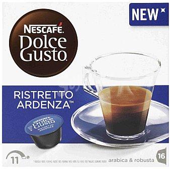 Dolce Gusto Nescafé Café ristretto ardenza 16 cápsulas