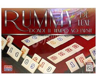 Aquamarine games Juego de mesa de construcción de palabras Rummy Deluxe, de 2 a 4 jugadores falomir juegos