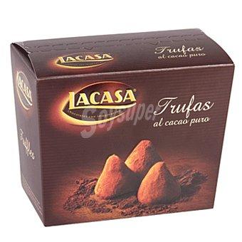 Lacasa Trufas de cacao puro Caja 200 g