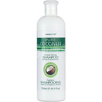 INECTO Champú Pure Coconut Oil hidratante para cabello normal Frasco 500 ml