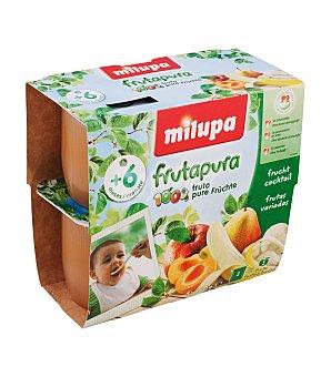 Milupa Tarrito Frutapura frutas variadas Pack de 4x100 g