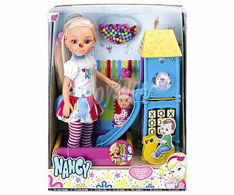 NANCY Parque Infantil con 2 muñecas 1 Unidad