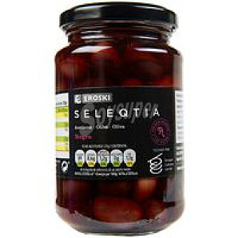 Eroski Seleqtia Aceitunas negras de Aragón Eroski Frasco 200 g
