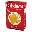 Edulcorante de aspartamo granulado en sticks Envase 100 unidades Canderel